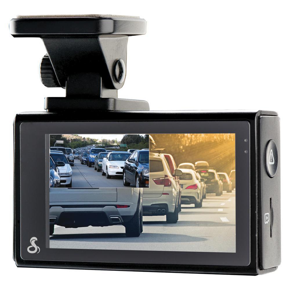 Dual-View Smart Dash Cam