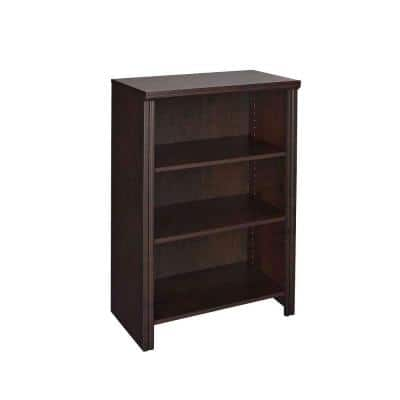 Impressions 25 in. W Chocolate Base Organizer for Wood Closet System