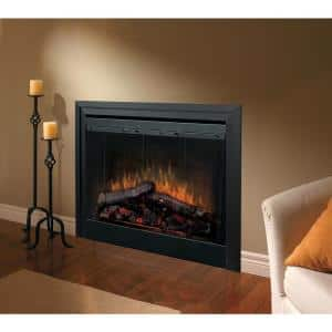 33 in. Deluxe Built-In Electric Fireplace Insert