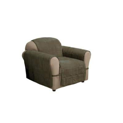 Sage Ultimate Faux Suede Chair Protector