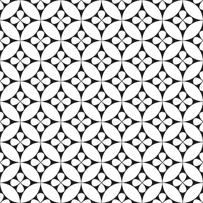 12 in. x 12 in. Black Fleur Peel and Stick Vinyl Tile Flooring 20 sq. ft. (Set of 20)