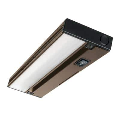 NUC 12 in. LED Oil-Rubbed Bronze Under Cabinet Light with Hi Low Off Switch