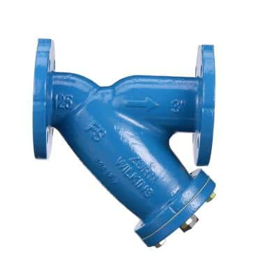 3 in. Dia Ductile Iron Wye Type Strainer