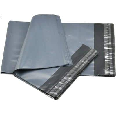 6 in. x 9 in. 2.4 mil #1 Poly Mailers Self Sealing Envelopes Bags (100-Pack)