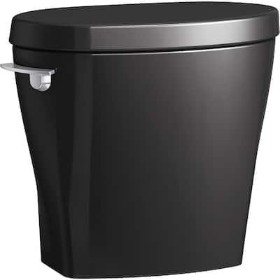 Betello 1.28 GPF Single Flush Toilet Tank Only in Black