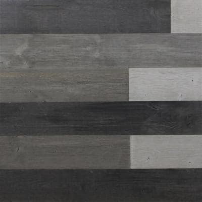 1/8 in. T x 5 in. W x 3.88 ft. L Mixed Grey Reclaimed Wood Peel and Stick Plank (10-Panels 16 sq. ft./Case)