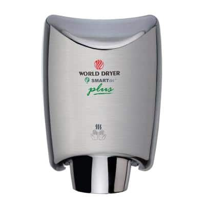 SMARTdri Plus High Efficiency Touchless Hand Dryer in Brushed Stainless Steel