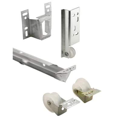 22-5/8 in., Galvanized Steel, Mono-rail Drawer Slide Kit