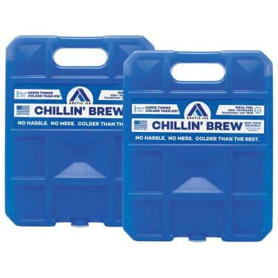 Chillin' Brew Series 5 lb. Freezer Pack 2-Pack
