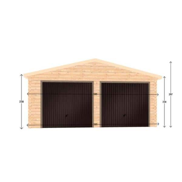 Ez Buildings Log Garage D2 19 5 Ft, Garage Reviews