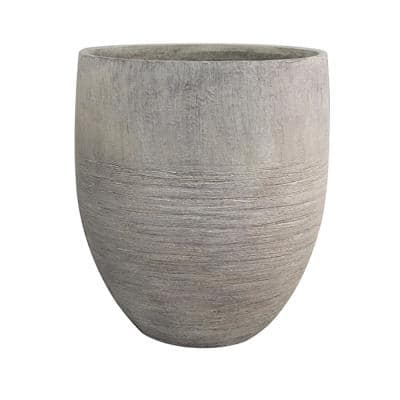 Unearthed 17 in. x 19 in. Fiberglass Tall Planter