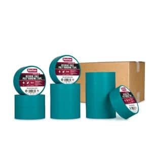1.89 in. x 54.7 yd. Residue Free Poly Hanging Duct Tape in Teal (12-Pack)