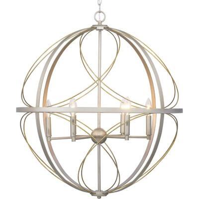 Brandywine Collection 6-Light Silver Ridge Pendant