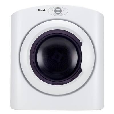 2.6 cu.ft. 120-Volt White Compact Portable Electric Laundry Dryer, Sensor Dryer