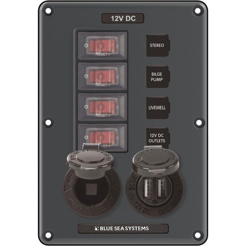Circuit Breaker Switch Panel