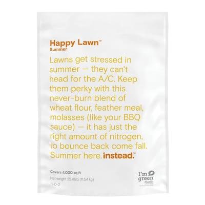 Happy Lawn 25.46 lbs. 4,000 sq. ft. Summer Dry Lawn Fertilizer