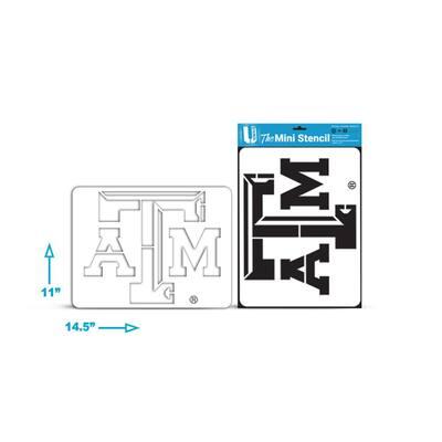 """""""T A&M"""" Mini Stencil"""