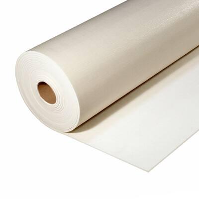 6 ft. x 45 ft. White Premium Carpet Cushion