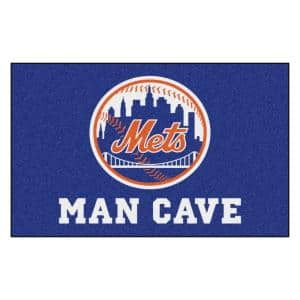 MLB  - New York Mets Man Cave UltiMat 5 ft. x 8 ft. Indoor Area Rug