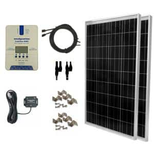 200-Watt Off-Grid Polycrystalline TrakMaxMPPT Kit