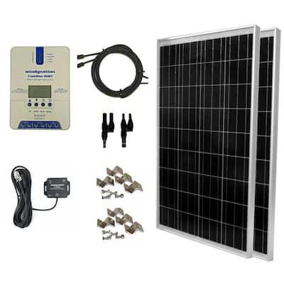 200-Watt Off-Grid Polycrystalline TrakMaxMPPT Kit