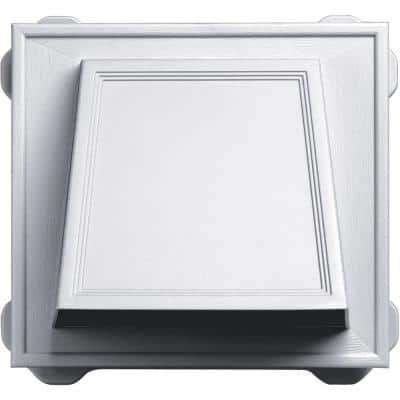 6 in. Hooded Siding Vent in #001-White