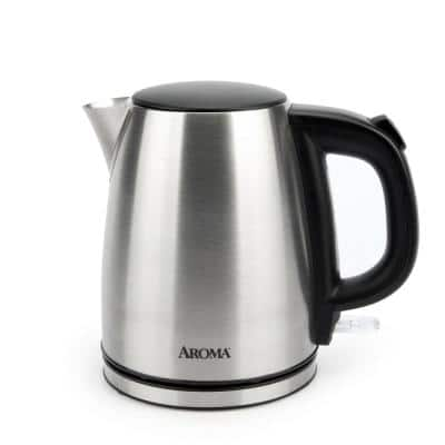 4-Cup Stainless Steel Electric Kettle