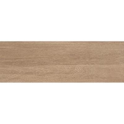 Uddo Kyoto 7.95 in. x 23.7 in. Matte Wood Look Ceramic Floor & Wall Tile (18.326 sq. ft./Case)