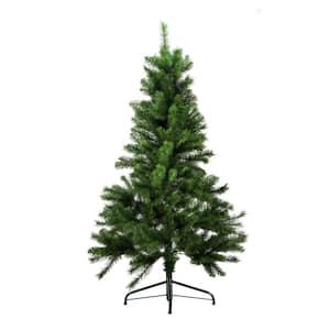 4.5 ft. x 35 in. Unlit Medium Mixed Pine Artificial Christmas Tree