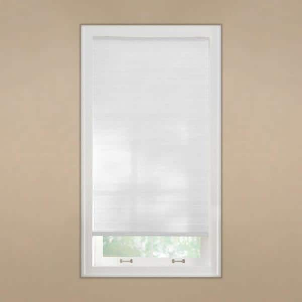 Home Decorators Collection Pebble Gray Cordless Light Filtering Cellular Shade 35 In W X 48 In L 10793478970391 The Home Depot