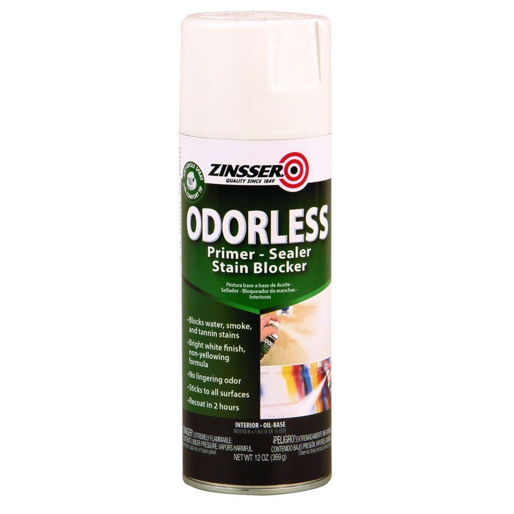 13 oz. Odorless Oil-Based Stain Blocker Interior Primer and Sealer Spray (6-Pack)