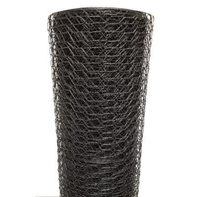 1 in. x 5 ft. x 150 ft. Vinyl Coated Poultry Netting