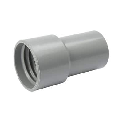 1-1/4 in. PVC Screw On Vacuum Hose Cuff
