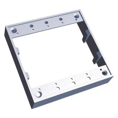 2 Gang Square Box Extension Ring