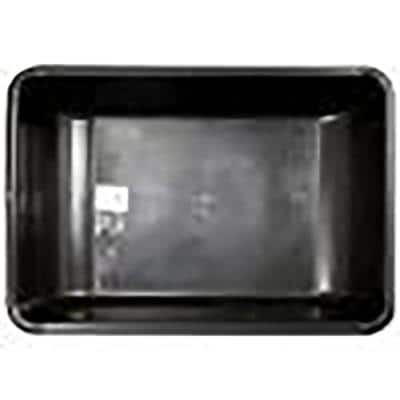 Black Large Concrete Mixing Tub
