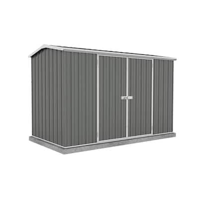 Premier 10 ft. x 5 ft. Woodland Gray Metal Shed