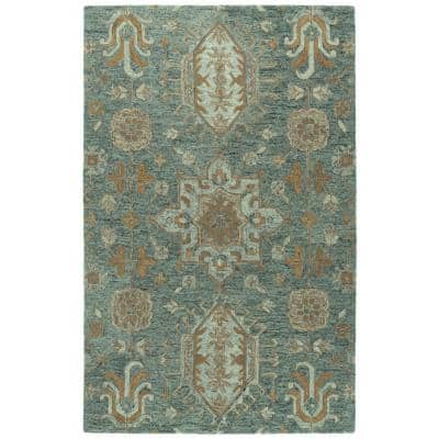 Chancellor Pewter Green 8 ft. x 10 ft. Area Rug