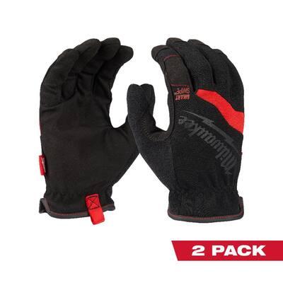 FreeFlex X-Large Work Gloves (2-Pack)