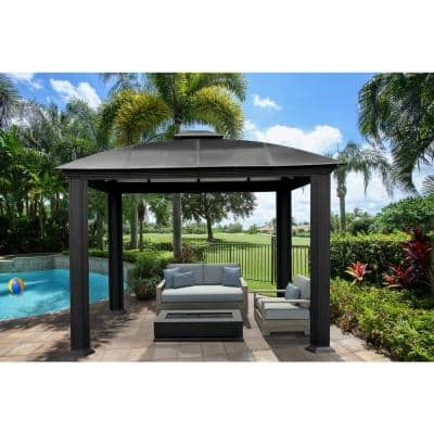 Paragon-Outdoor 12 ft. x 12 ft. Aluminum Gazebo