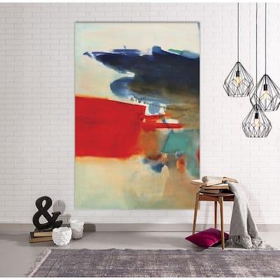 "48 in. x 72 in. ""Visionary"" by Bianka Guna Canvas Wall Art"