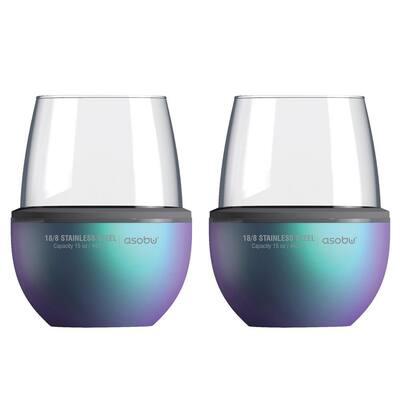 Unicorn Insulated Wine Kuzie (2-Pack)