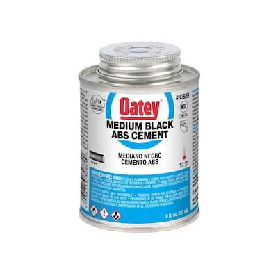 8 oz. Medium Black ABS Cement