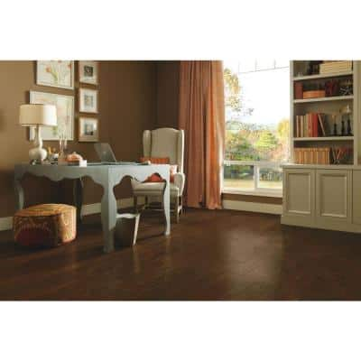 American Vintage Mocha Oak 3/8 in. T x 5 in. W x Random Length Eng Scraped Hardwood Flooring (25 sq. ft./case)