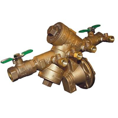 3/4 in. Brass Reduced Pressure Principle Backflow Preventer