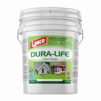 5 Gal. Dura-Life Clear 100% Acrylic Roof Sealant for Tiles and Shingles