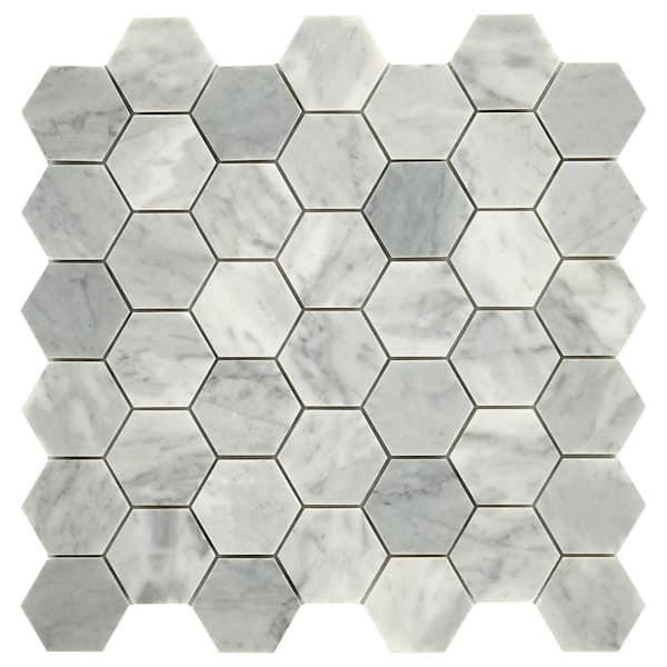 Daltile Re Mist Honed 12 In X, Home Depot Bathroom Floor Tiles