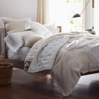 Legends Hotel? Reversible Relaxed Linen Quilt