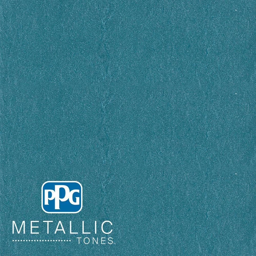 PPG METALLIC TONES 1  gal. #MTL114 Aqua Essence Metallic Interior Specialty Finish Paint