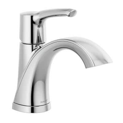 Parkwood Single Hole Single-Handle Bathroom Faucet in Chrome (Less Pop-Up Assembly)