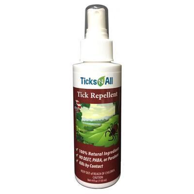 4 oz. All Natural Tick Repellent Spray
